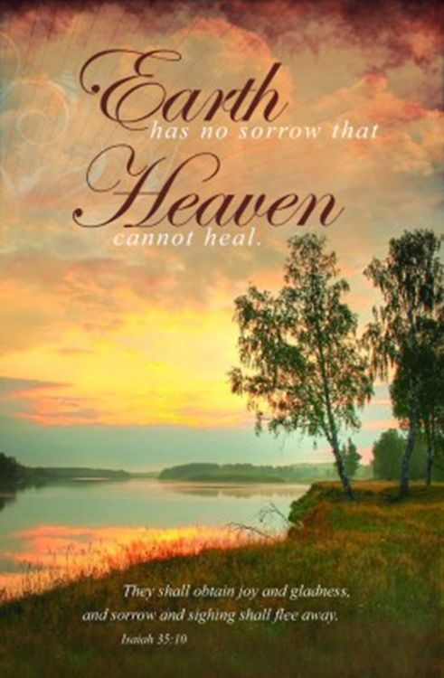 Rest In Peace Quotes Wallpaper Downloadable Funeral Bulletin Covers Earth Has No Sorrow