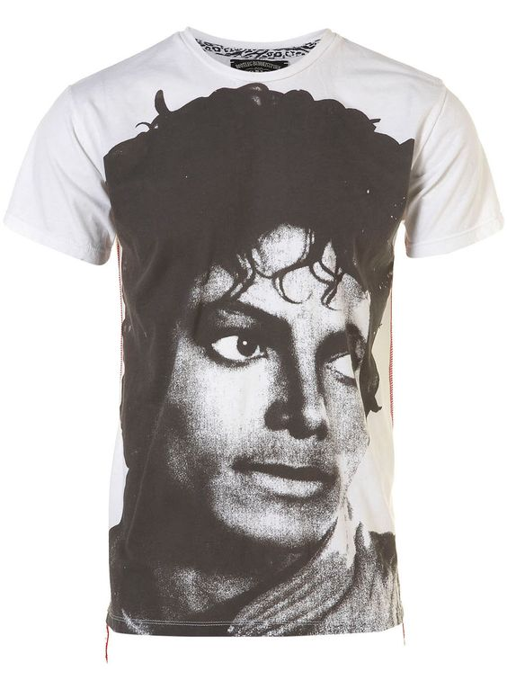 House of the Gods Michael Jackson Tee - £30 at Topman -- YES PLEASE!