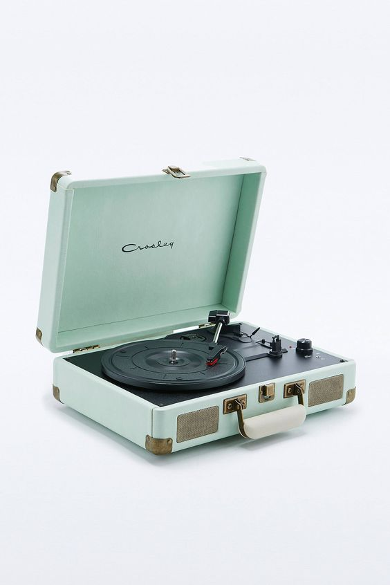 Slide View: 2: Crosley  - Tourne-disque Cruiser menthe
