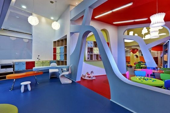 Modern Classroom Design Ideas ~ Modern ideas for kindergarten interior decor