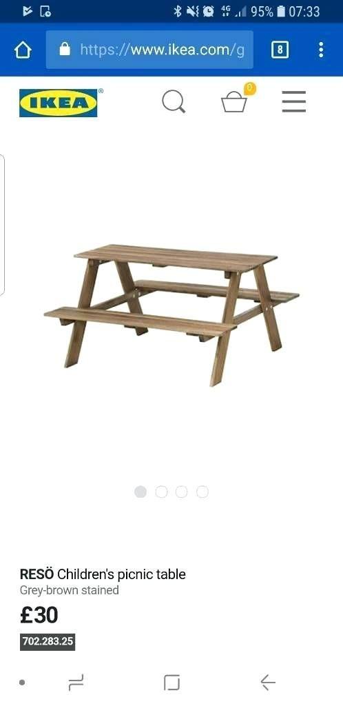 Outstanding Kids Picnic Table Ikea