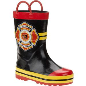 Toddler Boys&39 Fire Chief Rain Boots | Baby 2 | Pinterest