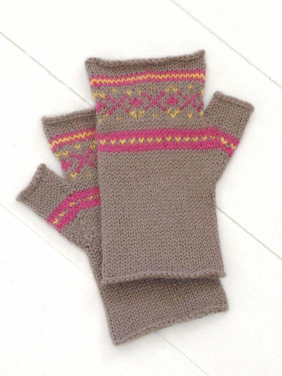 Alpaca Mittens Knitting Pattern : sporty mitts by blue sky alpacas free pattern. KNIT THIS Pinterest Spor...