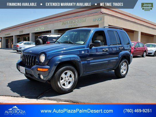 Sport Utility 2004 Jeep Liberty 4wd Limited With 4 Door In Palm