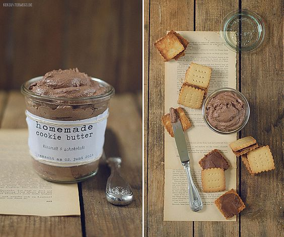 Peanut Butter Cookies & Speculoos Cookie Butter  @ yumlaut.de