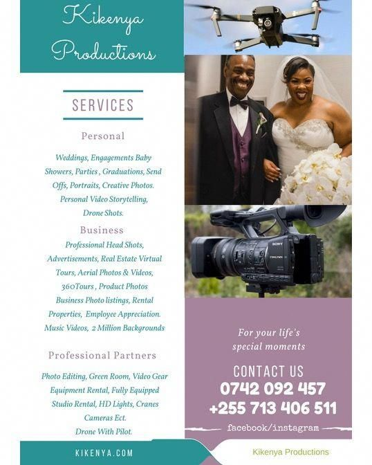 When You Re In Tanzania And You Need Drone Footage Wedding Documentary Event Footage Professional Portraits Professional Portrait Photo Packages Photography