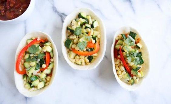 Healthy Veggie Burritos Recipe | http://aol.it/19gHZoP