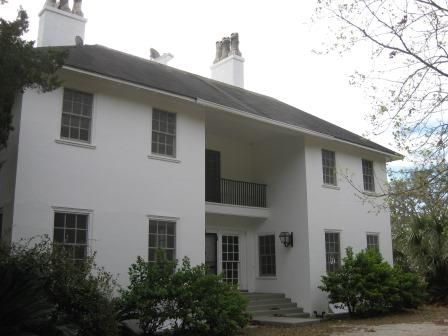 The Grange - a house in the historic district near the Dungeness Ruins