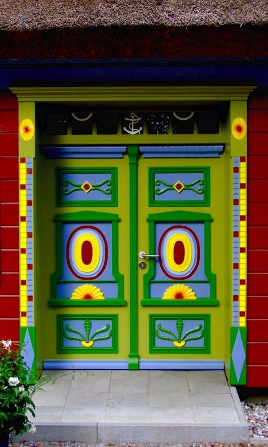 Coole Tür auf dem Darß