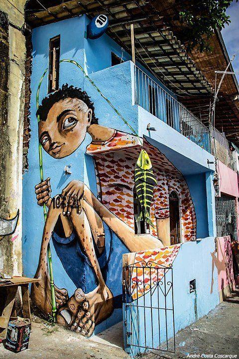 peixe!    Sede do Musas - Museu de street art de Salvador: Graffiti Street Art, Streetart Forløb, Art, Shiny Streetart, Art Murals, Streetart Graffiti, Street Art, Painting Murals Street Art, Art Street
