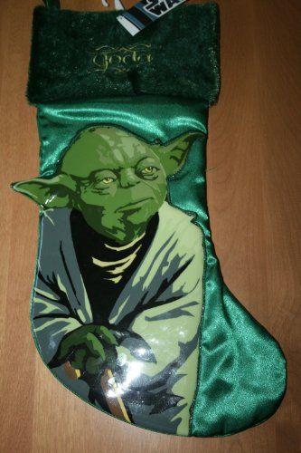 18 Inch Star Wars Yoda St Nick Christmas Stocking Kurt S. Adler - Oh hell yeah...