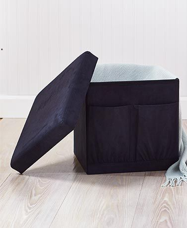 Collapsible Storage Ottomans
