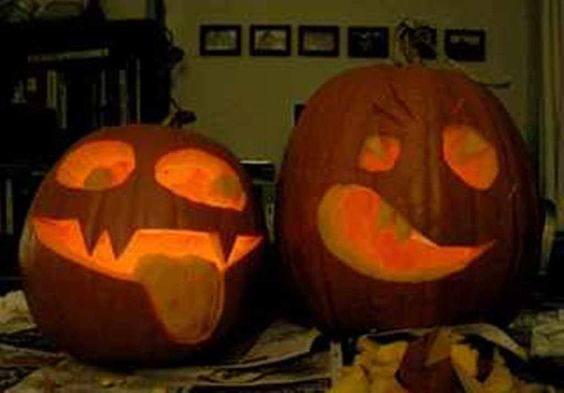 Pumpkin Carving Silly Faces Ideas