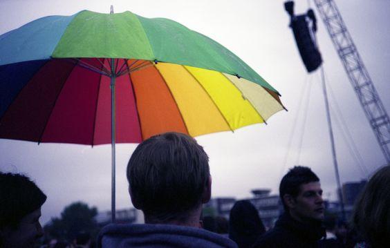 Cor para a chuva
