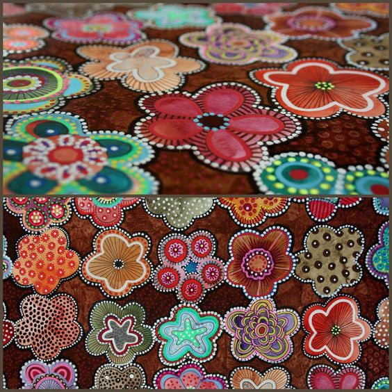 flores multicolor