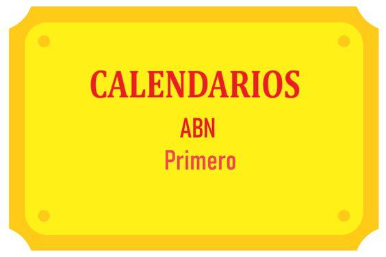 Calendarios ABN Primero