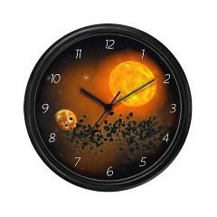 The #Apokalypse #Wall #Clock