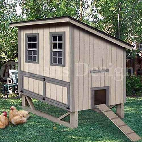 Large Hen House Plans | images of x6 modern style chicken house coop plans 90406m wallpaper
