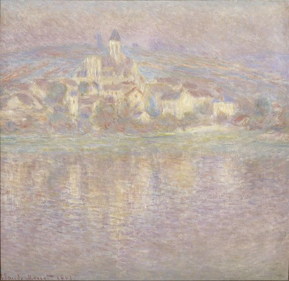 Claude Monet, Vétheuil, tramonto (Hi-Res:  http://www.livingroma.it/wp-content/uploads/2014/04/46_orsay.95-010156_Monet-Vetheuil.jpg)