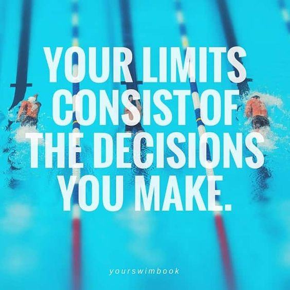 Your Limits Consist of the Decisions You Make