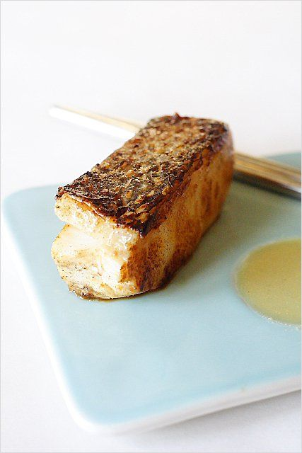 Miso marinated sea bass recipe sea bass fish and juice for Miso sauce for fish