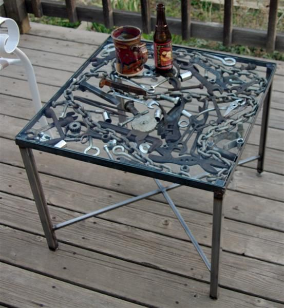 Galleries tables and welding on pinterest for Cool things to weld