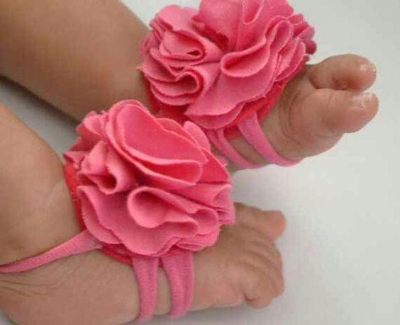 Pulsera con flor en tela