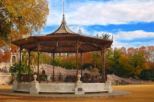 Parc de la ciutadella. Barcelona