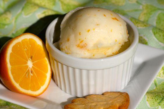 Meyer Lemon Sorbet   Recipe   Lemon Sorbet, Sorbet and Tasty Kitchen