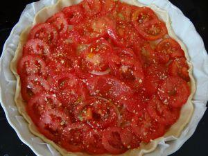 Tarte tomate-oignon - Couleurs d'été! - Fleanette's Kitchen