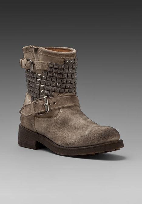 ASH Studded Boot in Clay