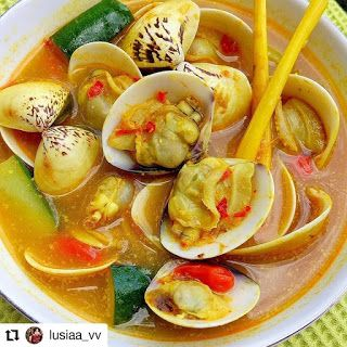 Lempah Kerang Lokan Resep Masakan Resep Masakan Indonesia Resep