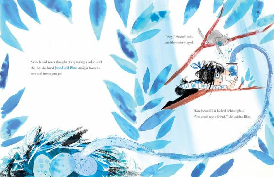 Swatch: The Girl Who Loved Color, written and illustrated by Julia Denos