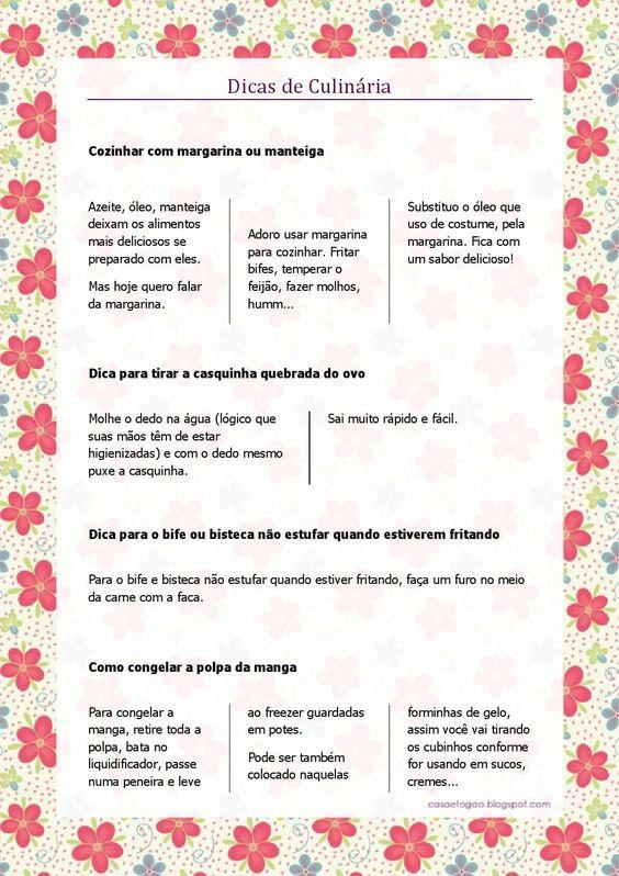 Download gratuito do Ebook (livro digital) Casa e Fogão – Edição n°01 Novembro de 2014. Receitas - Dicas de Culinária - Dicas de Organização e muito mais...