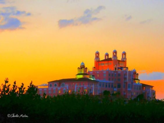 The Don CeSar Hotel on St. Pete Beach by Charles Marton