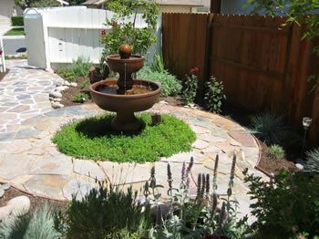 landscaping around fountains Water Features for Your