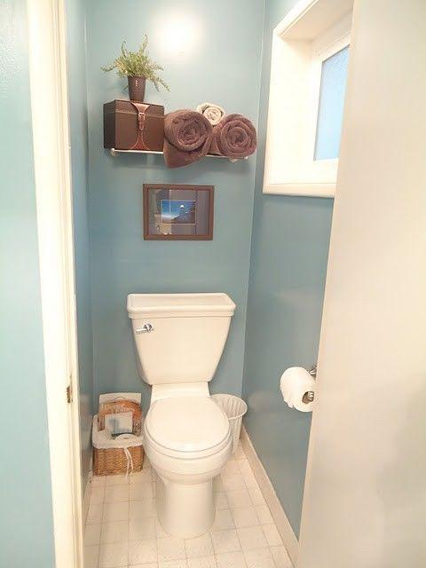 Paint color for bathroom valspar summer house blue our for Valspar kitchen and bath paint