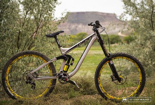 RE-PIN THIS!   Red Bull Rampage 2013: Cam Zink's Prototype Hyper (via Pink Bike)