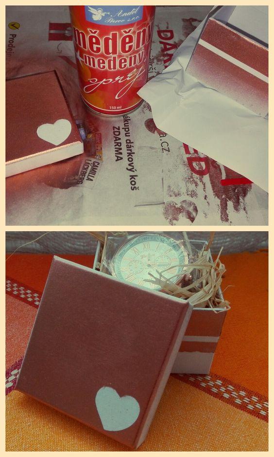 DIY box for presents