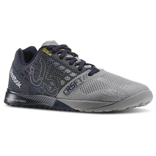 Reebok Nano 5.0, size 10, Grey/Black or Red/Black.