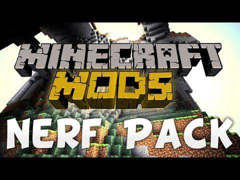 Nerf Pack Mod 1.7.10/1.7.2/1.6.4 - http://www.minecraftjunky.com/nerf-pack-mod-1-7-101-7-21-6-4/