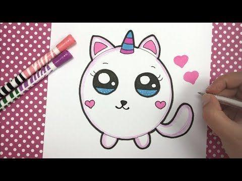 Kawaii Einhorn Katzchen Malen Youtube Katze Malen Einhorn Malen Kawaii Einhorn