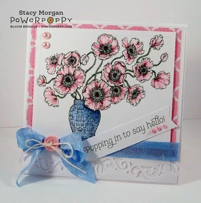 Poppies Stamp Set - Power Poppy by Marcella Hawley