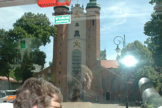 """Beautiful church in Gdansk, Poland. Princess """"Star"""" Ship."""