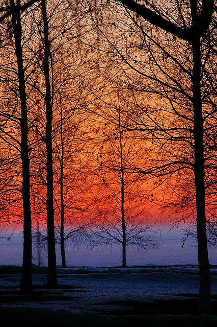 ❖ Sunset at Nallikari Beach, Oulu, Finland