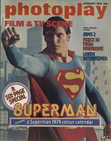 Christopher Reeve - Photoplay Magazine [United Kingdom] (January 1979)