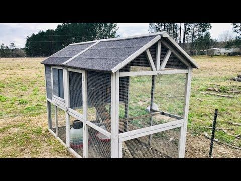 How To Build A Small Poultry House Poultry House Farm Shed Building A Chicken Coop