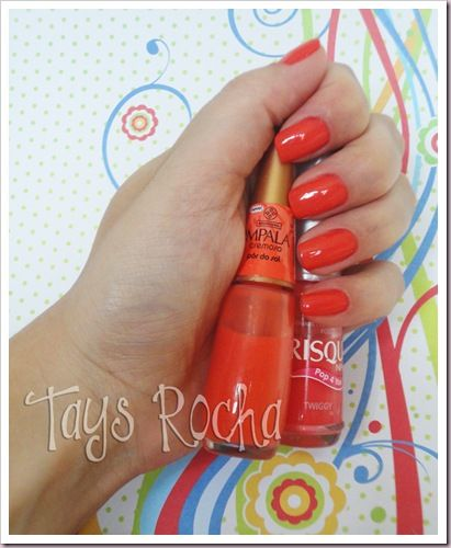 #nailpolish #orange