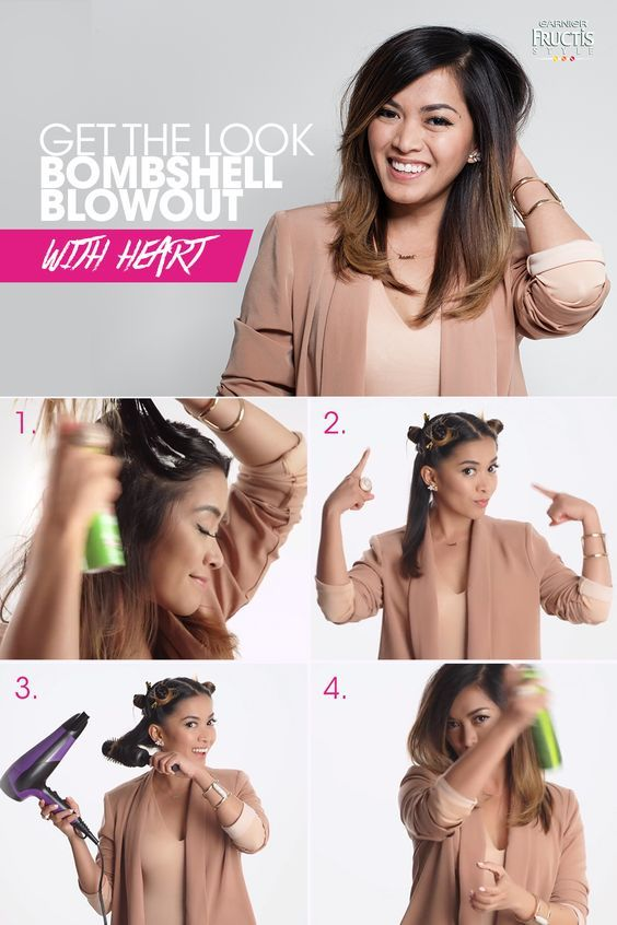 Creating A Professional Looking Hair Style At Home With Your Own Blow Dryer Women Fitness Magazine Hair Styles Blow Dry Hair Hair Beauty