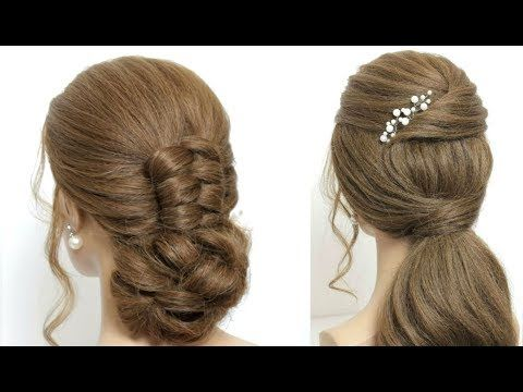 2 New Hairstyles For Christmas New Year Eve Youtube Hair Styles Long Hair Styles Party Hairstyles For Long Hair